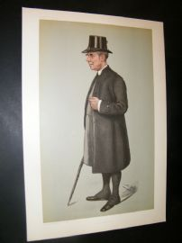 Vanity Fair Print 1901 Bishop of Winchester, Clergy